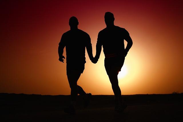 běh homosexualů