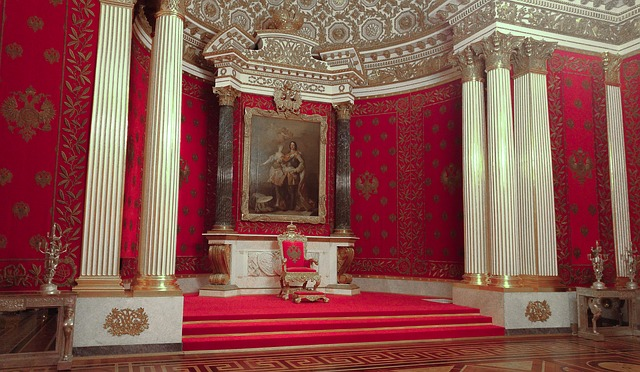 královský trůn