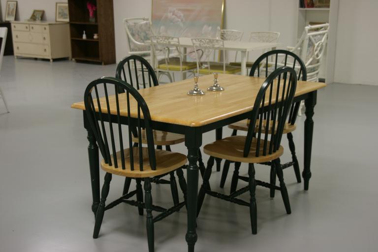 Jídelní set 4 židle a stůl