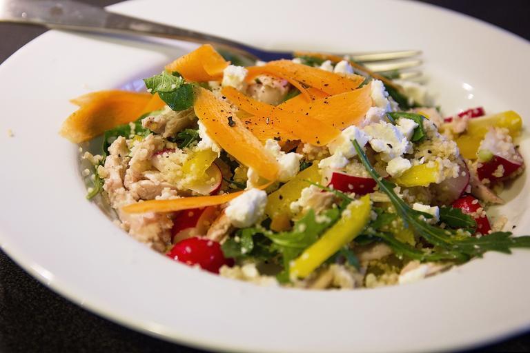 talíř zeleniny